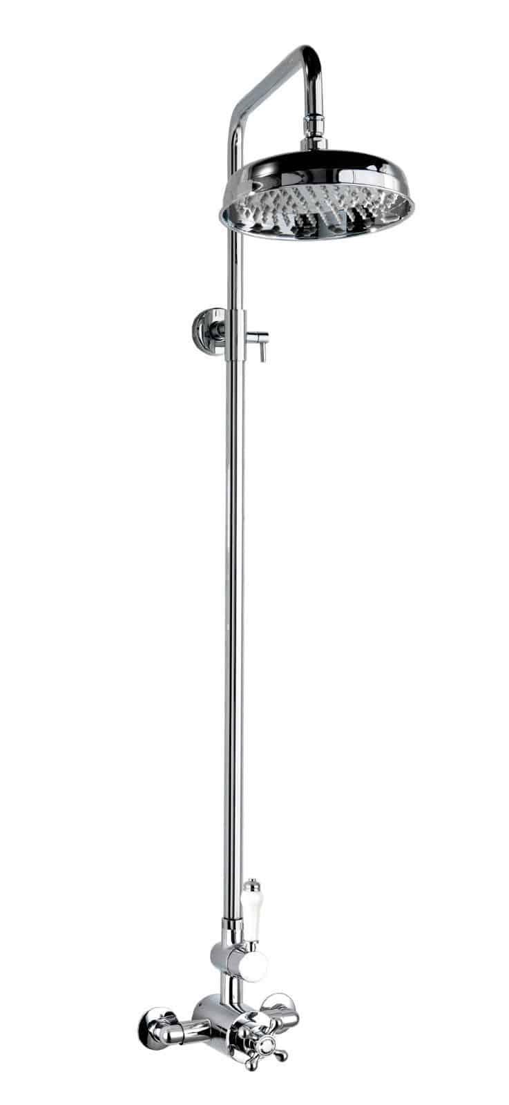 Cassellie Deluge Traditional Rigid Riser Shower Kit Delk001 Cheeky Bathrooms