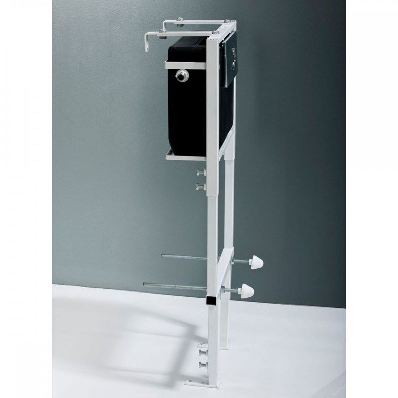 Adjustable Height Wall Hung Concealed Toilet Mounting