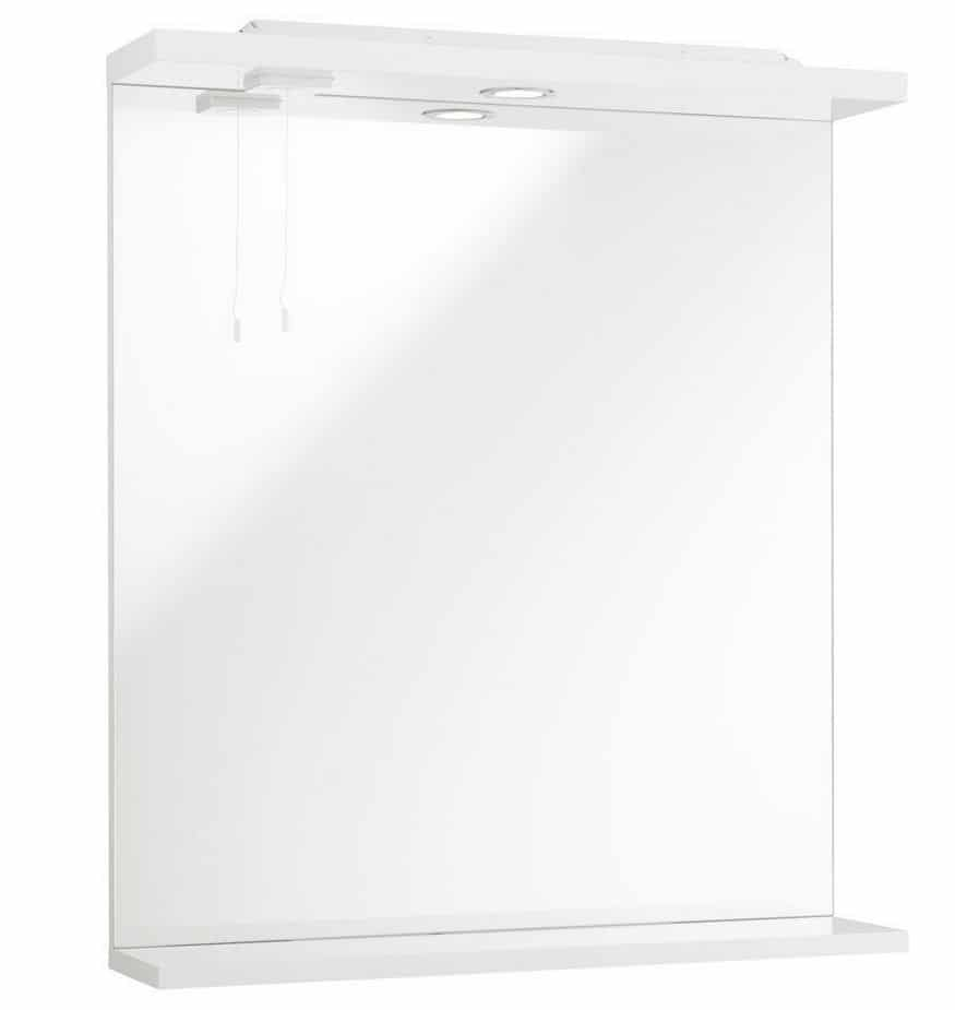 Cove Bathroom Furniture Pack 5 Piece: Cove Gloss White Bathroom Furniture Pack