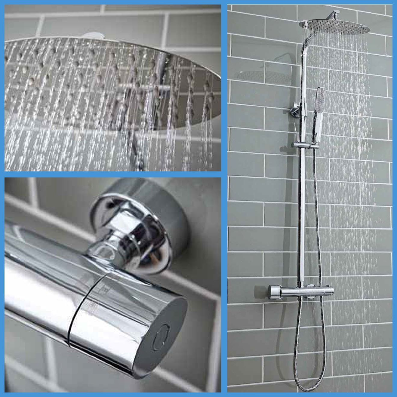Shield Marco Oval Mixer Shower Cheeky Bathrooms