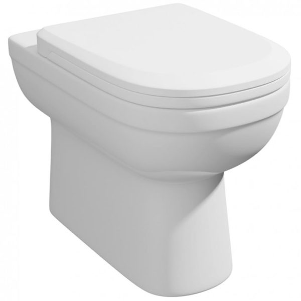 Lifestyle Comfort Height BTW WC Pan inc Soft Close Seat
