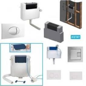 Concealed Cisterns & Flush Plates