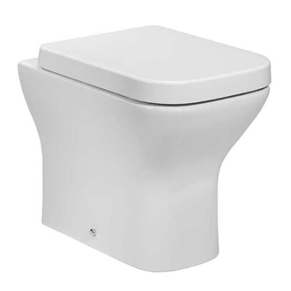 Project Square Back To Wall Pan With Soft Close Seat