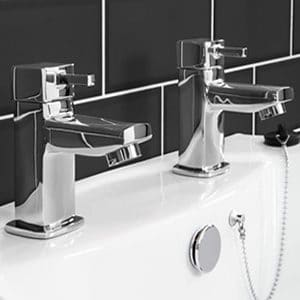 Basin Taps Pair